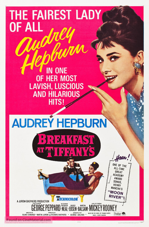 Breakfast at Tiffany's - Re-release movie poster
