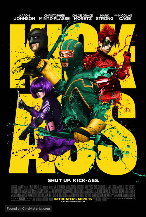 Kick-Ass - Movie Poster