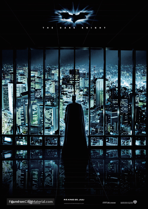 The Dark Knight - Norwegian Movie Poster