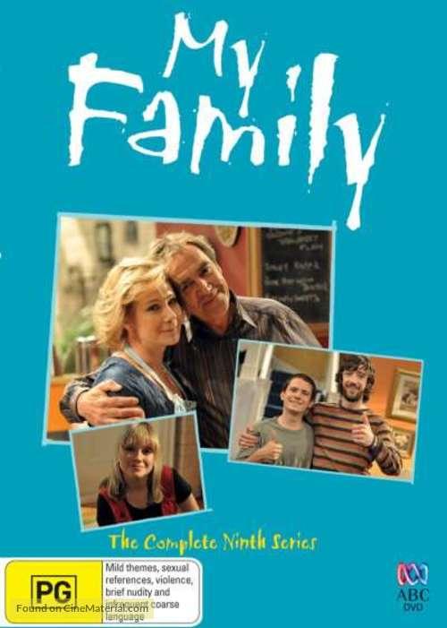 """""""My Family"""" - Australian DVD cover"""