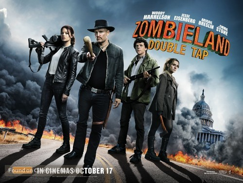 Zombieland: Double Tap - Australian Movie Poster
