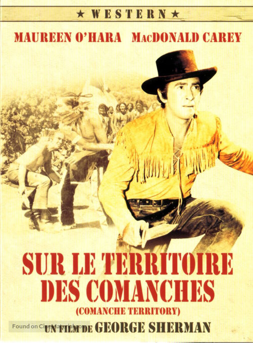 Comanche Territory - French Movie Cover