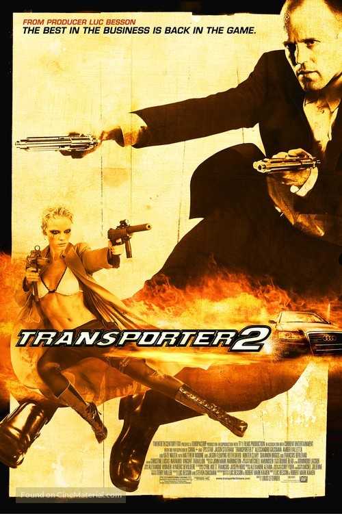 Transporter 2 - Movie Poster