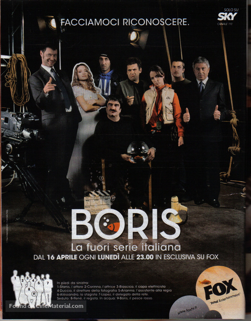 """Boris"" - Italian Movie Poster"