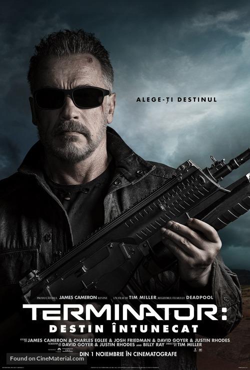 Terminator: Dark Fate - Romanian Movie Poster