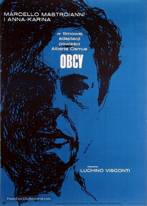 Lo straniero - Polish Movie Poster