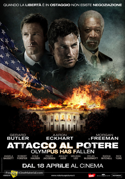 Olympus Has Fallen - Italian Movie Poster