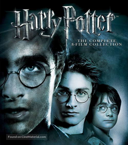 Harry Potter and the Chamber of Secrets - Blu-Ray movie cover