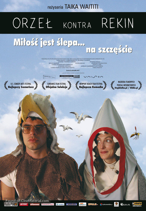 Eagle vs Shark - Polish Movie Poster
