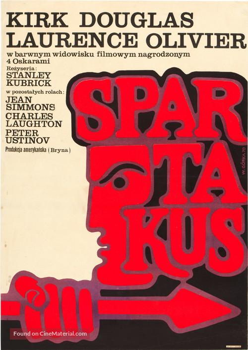 Spartacus - Polish Movie Poster