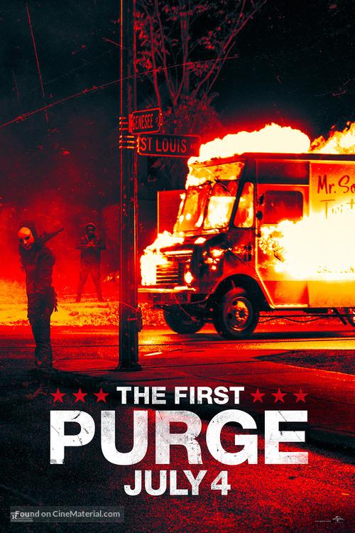The First Purge (2018) English HDRip - 720p - x264 - AAC - 800MB - ESub