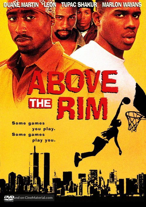 Above The Rim - DVD cover