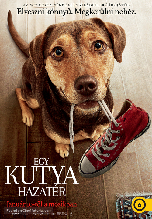 A Dog's Way Home - Hungarian Movie Poster