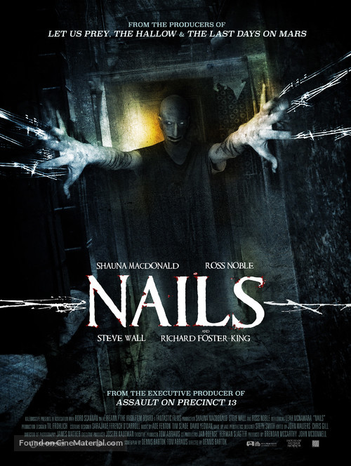Nails - British Movie Poster
