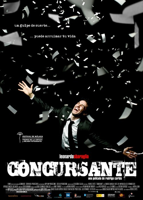 Concursante - Spanish Movie Poster