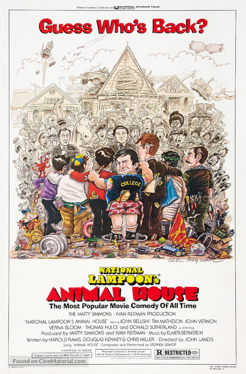 Animal House - Re-release movie poster