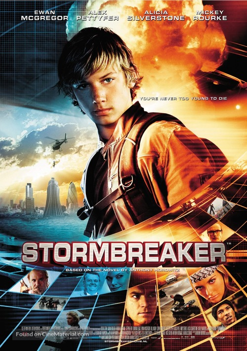 Stormbreaker - Dutch Movie Poster