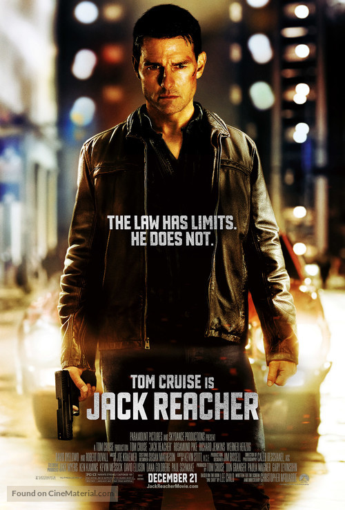 Jack Reacher - Movie Poster