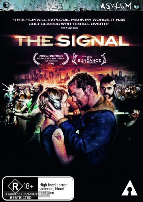 The Signal - Australian Movie Cover