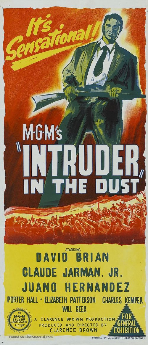 Intruder in the Dust - Australian Movie Poster