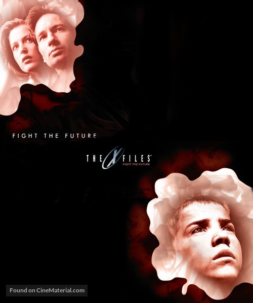The X Files - Blu-Ray movie cover