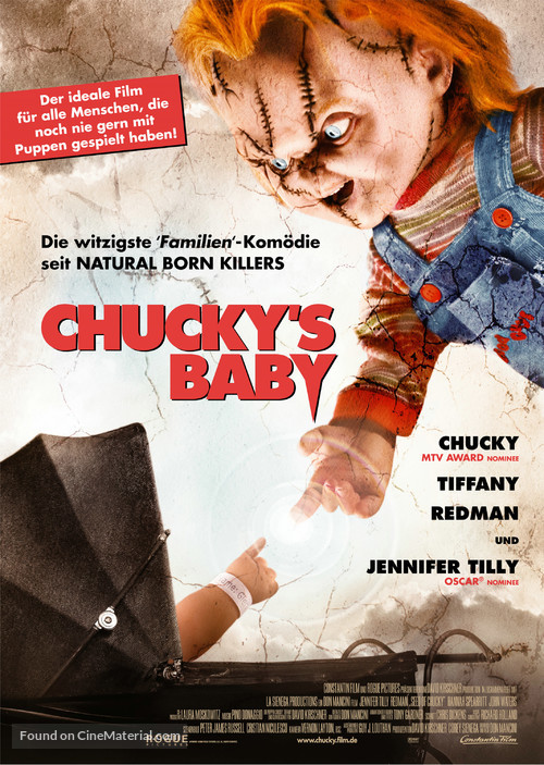 Seed Of Chucky - German Movie Poster