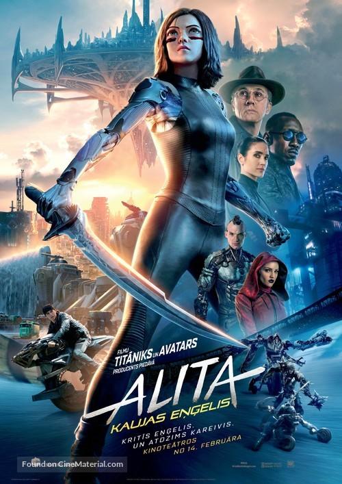 Alita: Battle Angel - Latvian Movie Poster