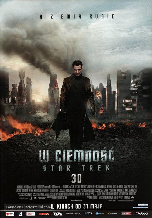 Star Trek: Into Darkness - Polish Movie Poster
