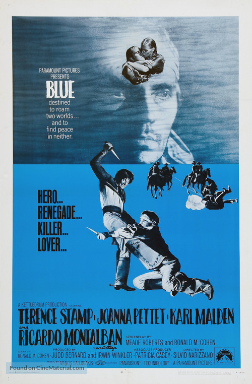 Blue - Movie Poster