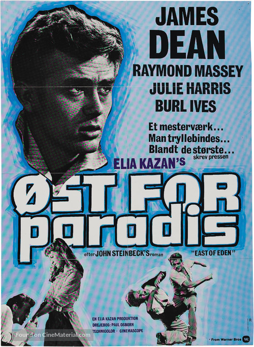Rebel Without a Cause - Danish Movie Poster