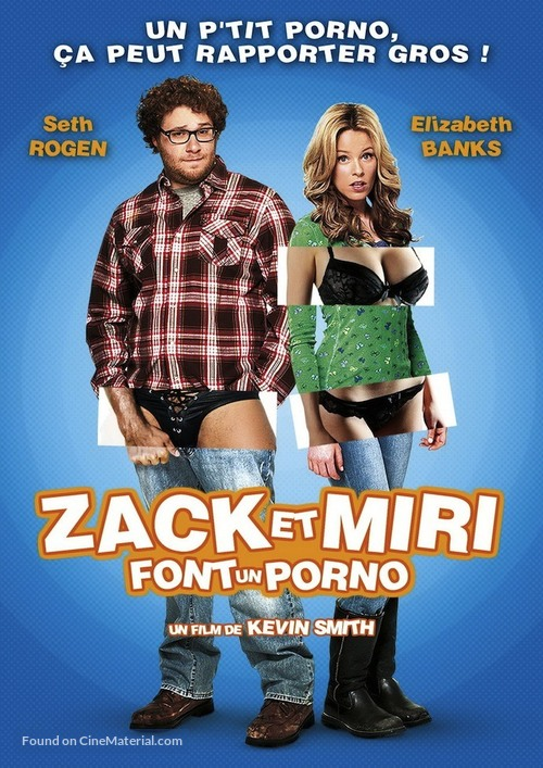 Zack and Miri Make a Porno - French Movie Poster