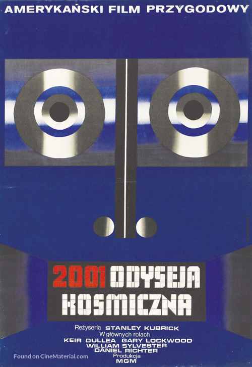 2001: A Space Odyssey - Polish Movie Poster
