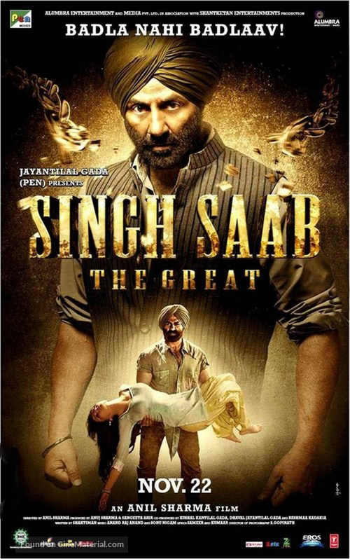 Singh Saab the Great - Indian Movie Poster