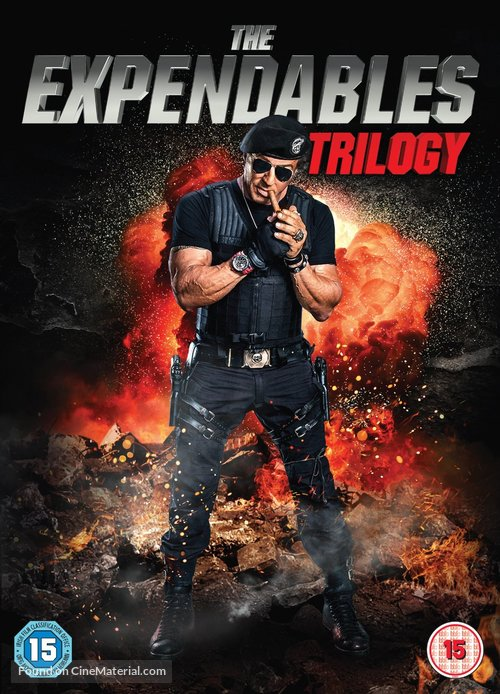 The Expendables 3 - British DVD cover