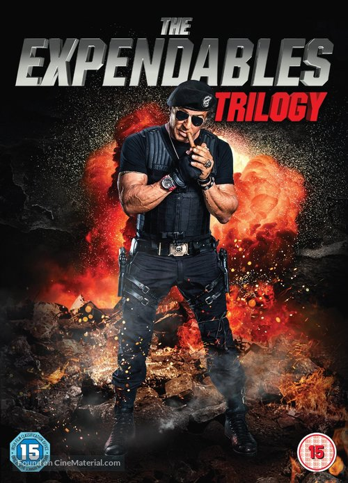 The Expendables 3 - British DVD movie cover