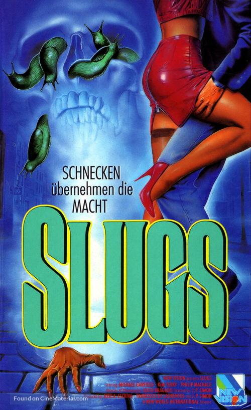 Slugs, muerte viscosa - German VHS movie cover
