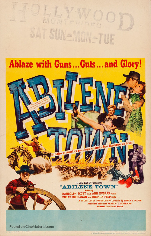 Abilene Town - Movie Poster