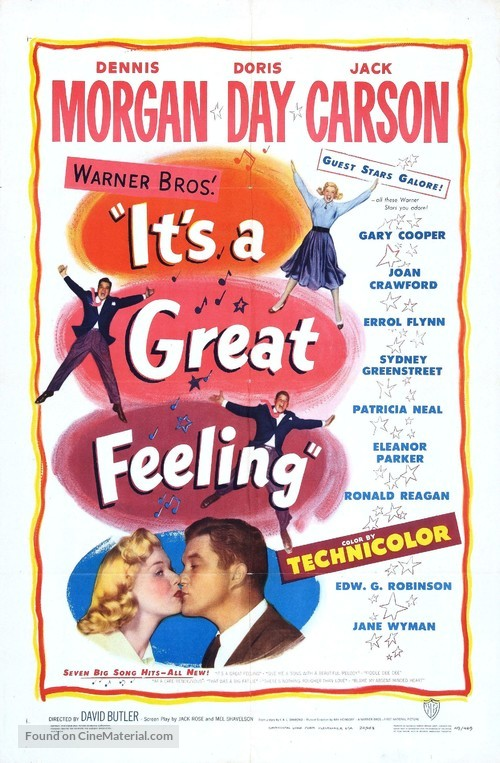 It's a Great Feeling - Movie Poster