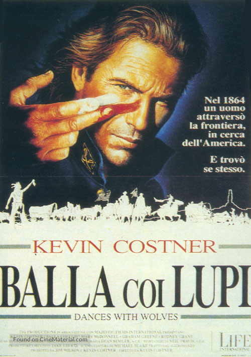 Dances with Wolves - Italian Movie Poster