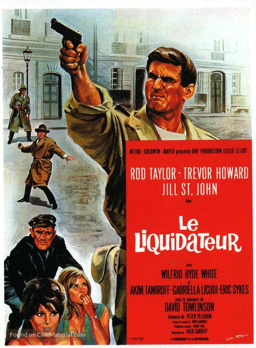 The Liquidator - French Movie Poster