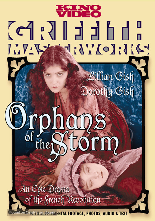 Orphans of the Storm - DVD cover