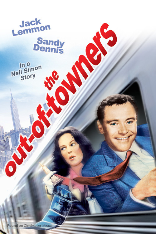 The Out-of-Towners - DVD movie cover