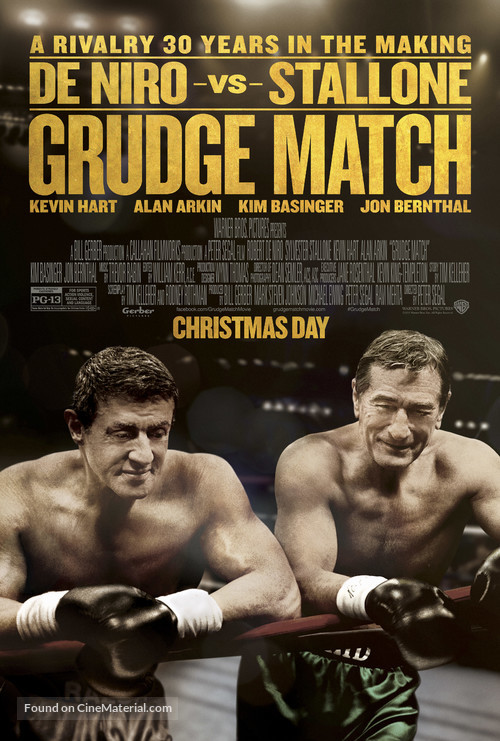 Grudge Match - Movie Poster