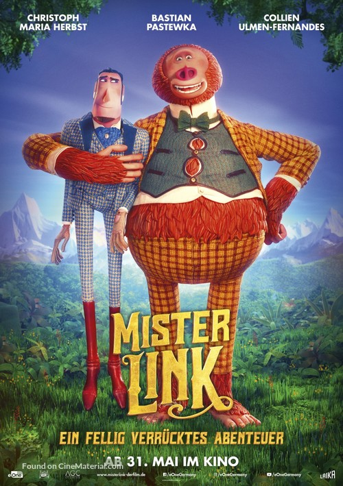 Missing Link - Austrian Movie Poster