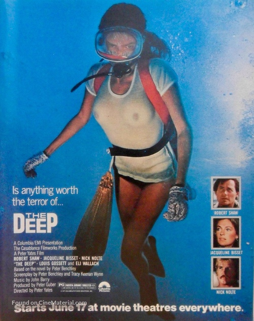 The Deep - Movie Poster