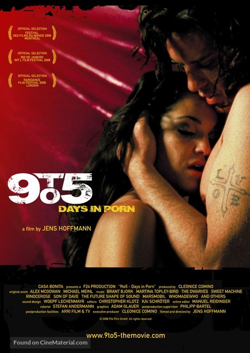 9 to 5: Days in Porn - German Movie Poster