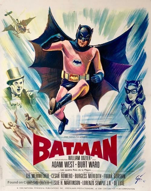Batman - French Movie Poster