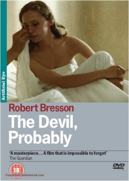 Diable probablement, Le - British Movie Cover