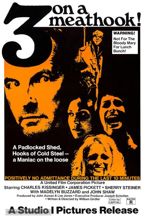 Three on a Meathook - Movie Poster
