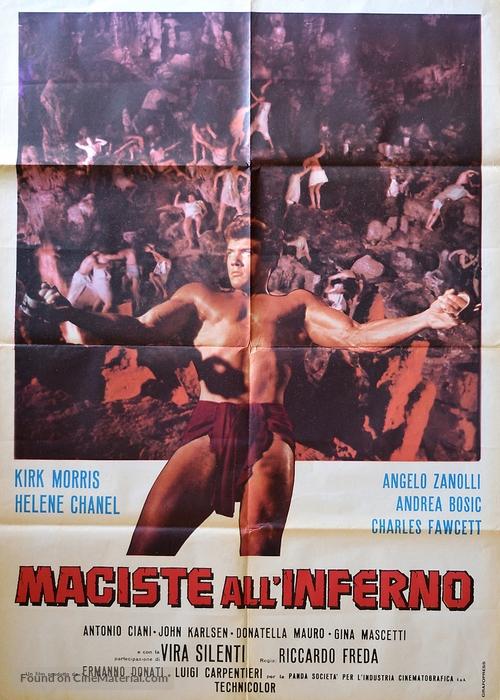 Maciste all'inferno - Italian Movie Poster